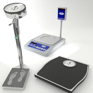 3D weighing scales