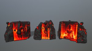 3D buda temple