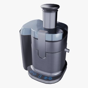 industrial juicer 3D