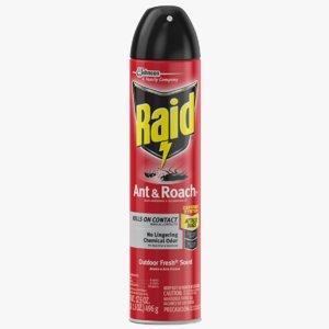 raid aerosol 3D model
