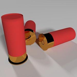 3D cartridge weapons