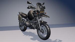 motorcycle pubg 3D model