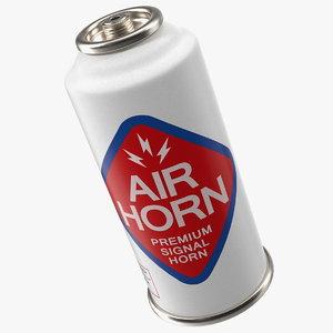 sports air horn bottle 3D model
