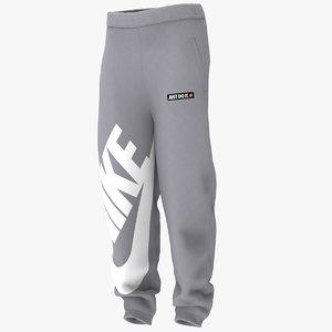 3D model jogger pants