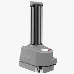 3D disinfection robot supplier model