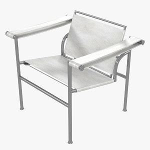 minimalist le corbusier lc1 3D
