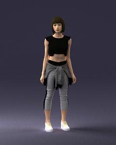 human ready 3D model