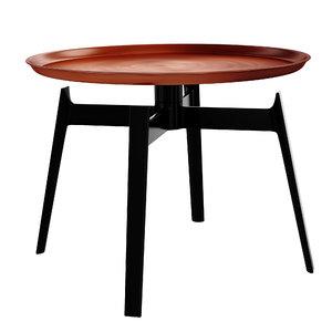 husk tables 3D model