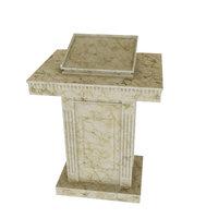 Tribune marble