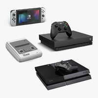 Game Consoles Collection 2