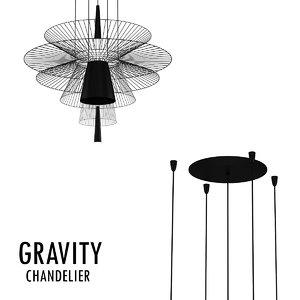 gravity 3D model