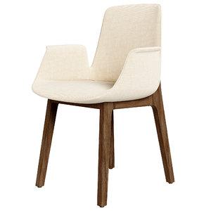 3D ventura chair model