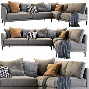 interface coco sectional 4 3D model