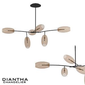 diantha 3D model