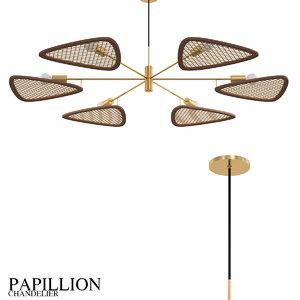 3D papillion