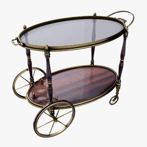 luxury serving table 3D model