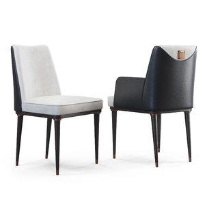 sesto senso chairs 3D model
