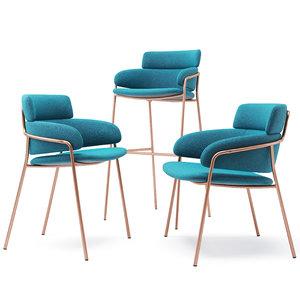 3D strike chair arrmet armchair