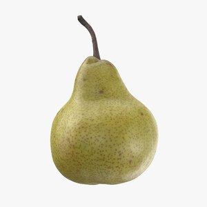 3D pear pbr