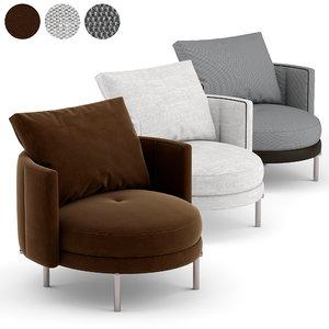 v-ray torii seats 3D model