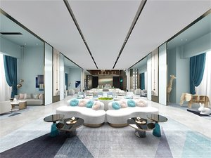 lounge hall model