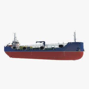 bunker vessel ship model