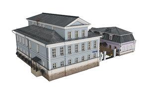 malyi tolmachevskyi 10 str 3D model