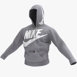 sweat hoodie 3D