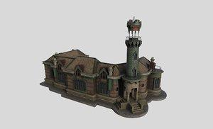 3D sobrellano palace gaud