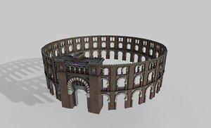 3D arenes barcelona