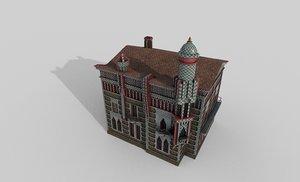 casa vicens gaud 3D model
