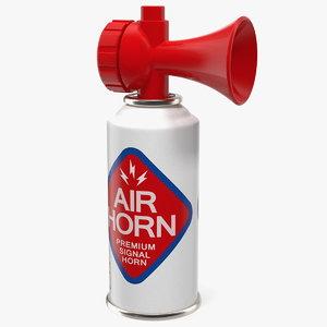 signal sports air horn 3D model