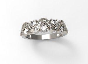printed ring 3D model