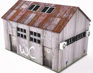 3D wc building