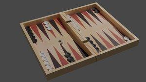backgammon model