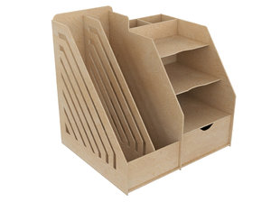 organiser 3D model
