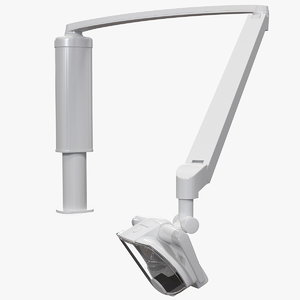 post mounted dental operatory 3D model
