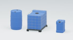 3D water tanks canister