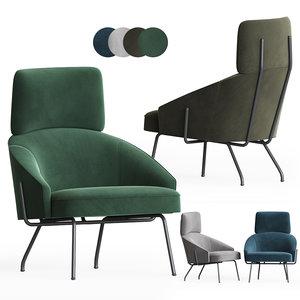 3D bahia armchair bonaldo