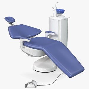 3D adjustable medical dental chair