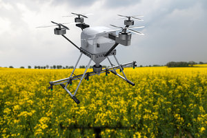 drone agricultural 3D