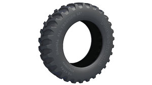 3D tractor road tire