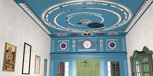 3D eise eisinga planetarium 1781