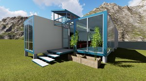 Container Solar Powered House