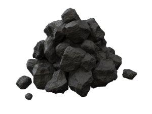 pile coal 3D model