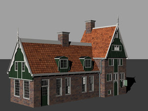 old dutch house 2 model