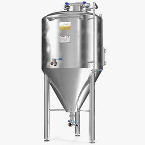 3D impiantinox easybrau velo fermentation