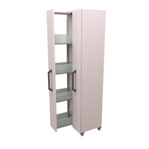 3D lab storage cabinet