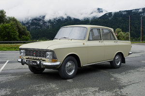 3D azlk moskvitch-412ie 1972 model