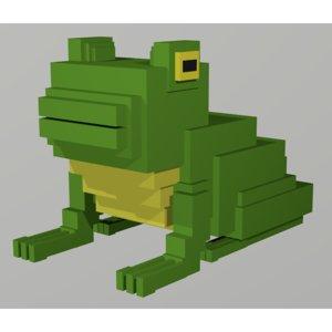 frog voxel model